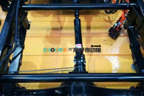 展好传动轴首批配套新能源电动车传动轴试车成功